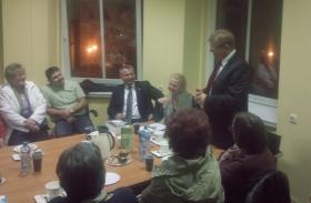 Spotkanie z radnymi Sejmiku Śląskiego